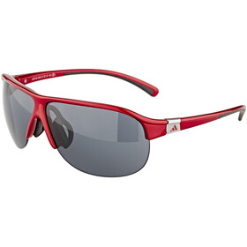 adidas Pro Tour Bike Glasses S red